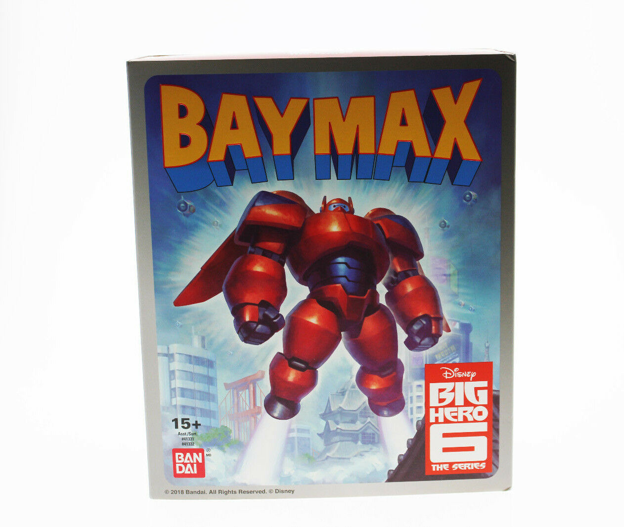 Comic Con SDCC 2018 Exclusive Bandai Die Cast Armored Baymax figure - IN HAND