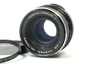Exc-5-Mamiya-Sekor-C-80mm-f-2-8-Lente-per-M645-1000S-Super-TL-DAL-GIAPPONE-Pro