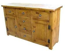 """""""any size made"""" SOLID WOOD SIDEBOARD DRESSER CABINET CUPBOARD RUSTIC PLANK PINE"""