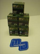 x10 HI FLO OIL FILTERS for Motocross KTM SXF 450 07 - 12 HF-652