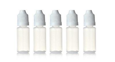 5ml 10ml 15ml 30ml Plastic Squeezable Dropper Bottles Eye Liquid Dropper LDPE