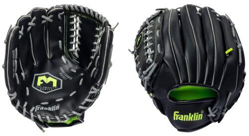 Softball Glove Franklin Field Master Series RTP Recreational Baseball Black