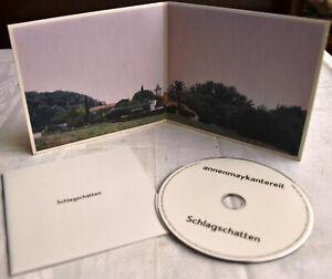 ANNENMAYKANTEREIT Schlagschatten CD Neuwertig DEUTSCH-ROCK Kultalbum MEISTERWERK