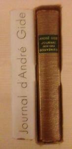 A-Gide-Journal-1889-1949-Souvenirs-2-vv-COMPLETO-Pleiade-Gallimard