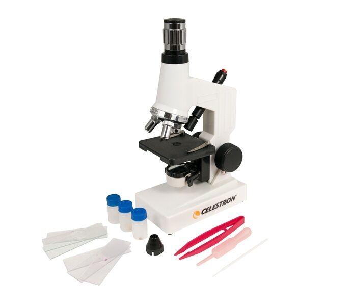 Microscopio Celestron Kit - 40X a 600X Power-Celestron  44121