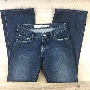 Ben-ShermanWomen-039-s-Jeans-Oxford-Hipster-Flare-Vntg-Slate-Sz-8-W30-L30-5-M8