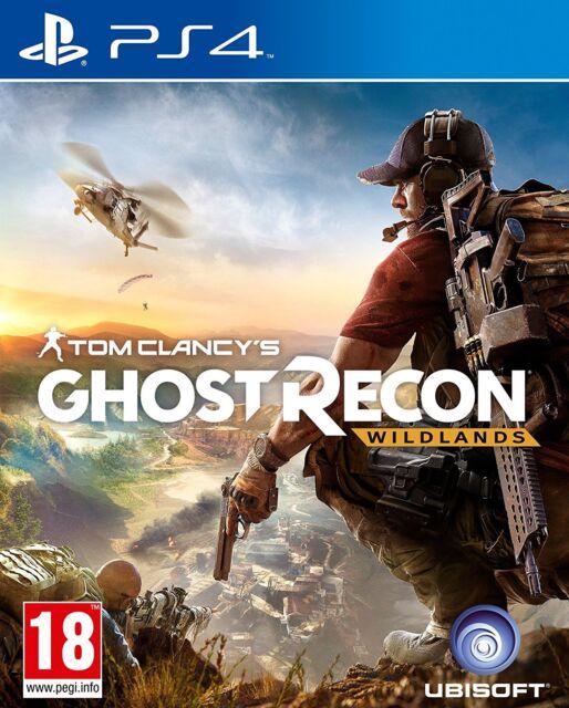Tom Clancy's Ghost Recon Wildlands PS4 Sony PLAYSTATION 4 Nuevo Precintado