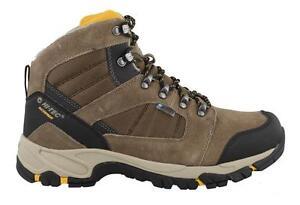Image is loading Hi-Tec-Borah-Peak-Waterproof-Shoes-Leather-Mens-