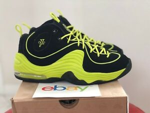 2012 DS Nike Air Penny II Le BLACK CYBER Sizes 8-11.5 new green volt ... cb5e82d7f