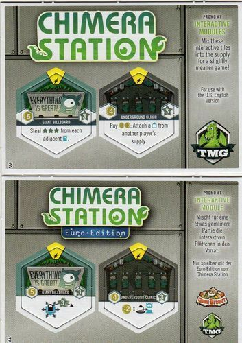Brettspiel Advent Calendar PROMO #7 Chimera Station Interactive Modules Eng//Ger