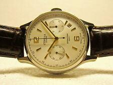 Poljot Strela 38 MM mechanical  3133 Russian Chronograph