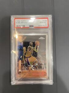 1996 Topps Chrome Kobe Bryant ROOKIE RC #138 PSA 10 GEM MINT