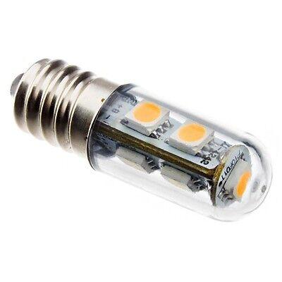 CA10 E14 1W 7x5050 SMD 60-80LM 2800-3200K Warm White Light LED Refrigerator Bulb