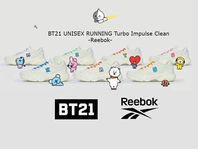 ventilador exageración Inclinarse  BT21] - BT21 Turbo Impulse Clean Reebok Official Goods UNISEX RUNNING Shoes  | eBay