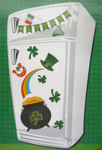 11 Pc SAINT PATRICK'S DAY Magnet Decor for OfficeSchoolHomeRefrigerator BN