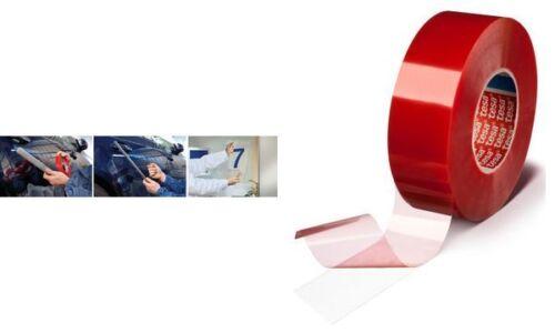 tesafix doppelseitiges Klebeband 12mm x 50m transparent beständig Klebemittel