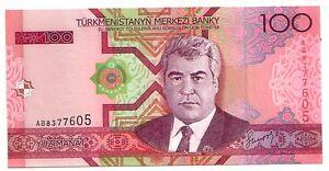 Turkmenistan-100-manat-2005-FDS-UNC-Pick-18-Lotto-3418