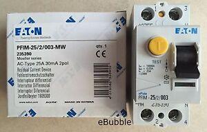 EATON-235390-INTERRUTTORE-DIFFERENZIALE-SALVAVITA-2P-25A-0-03A-CLASSE-AC
