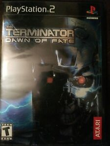 Terminator dawn of fate ps2 (Sony PlayStation 2, 2002)