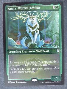 Anara Wolvid Familiar Etched Foil - Mtg Magic Cards #NC