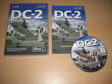 DC-2 PC CD ROM Add-on de Microsoft Flight Simulator Fsx Sim X 2004 FS2004
