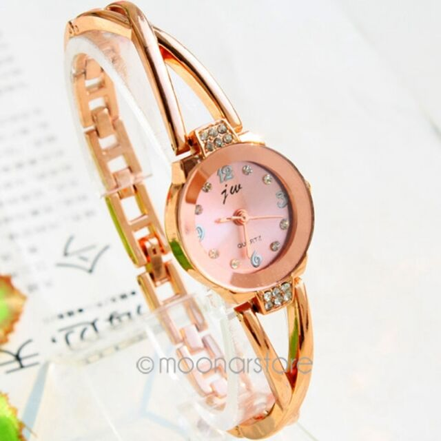 Mode Femme Fille Montre Bracelet Bangle Quartz Rétro Vintage Watch Bijoux Cadeau