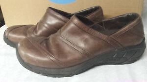 Women-s-Merrell-Encore-Eclipse-Slip-On-Coffee-Bean-Brown-Leather-Size-10-5