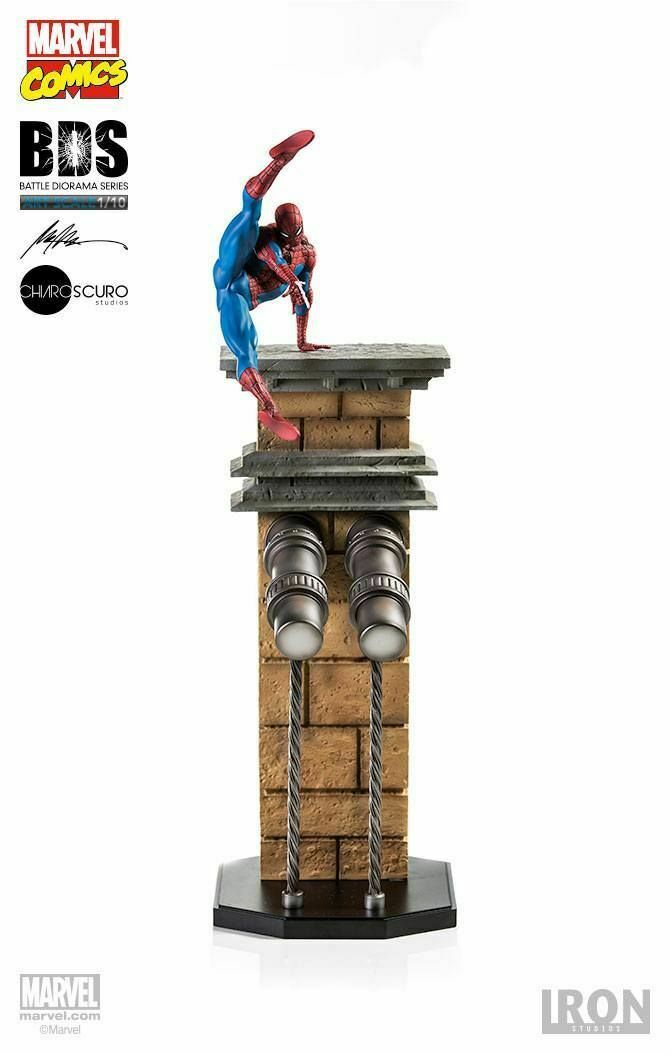 Spider-Man BDS Art Scale Iron Studios 1 10 (Marvel Comics)