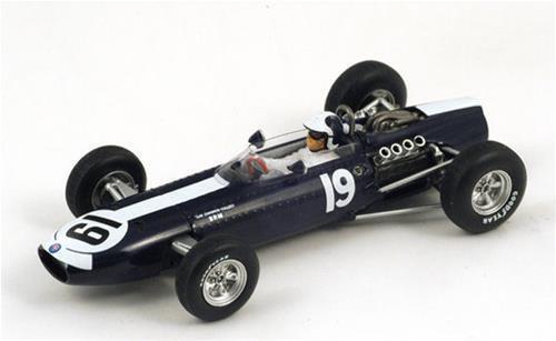 Brm P261 B.Bondurant 1966 N.19 4Th Monaco Gp 1:43 Spark S1859