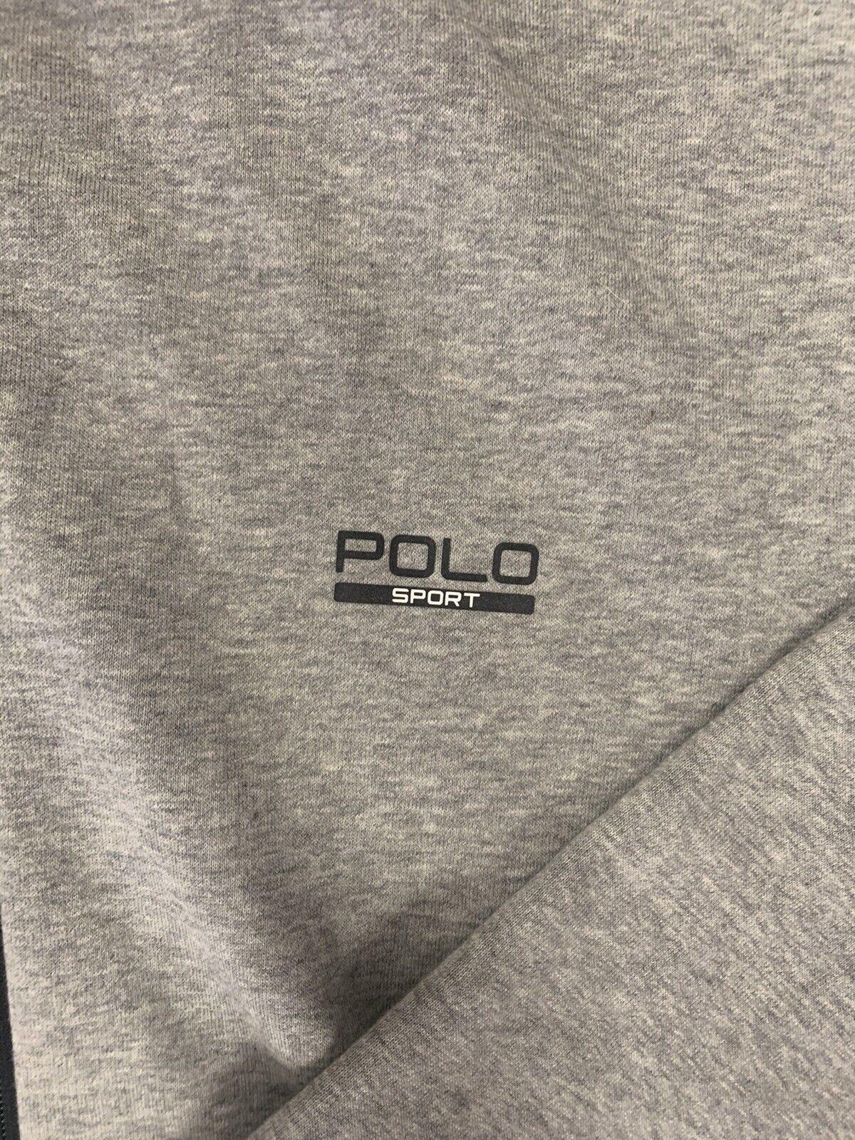 Ralph Lauren Polo Sport Zip Up Hooide LT Grey Vin… - image 2