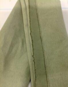 Salbei Grun Farbe Leinen Mischung Stoff Fur Einrichtung Und Polster
