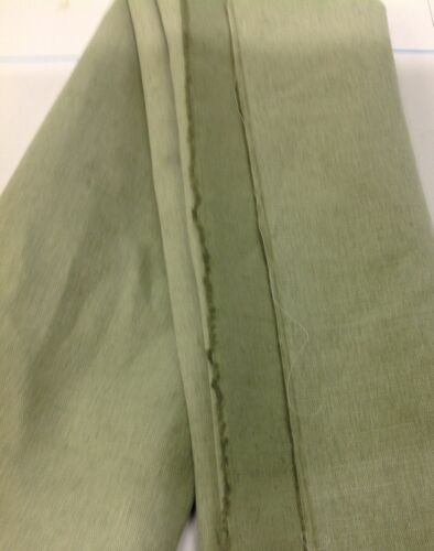 Sage Green  Colour Linen  Blend Fabric for Furnishings and Upholstery 350 gsm