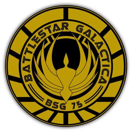 """Battlestar Galactica Car Bumper Window Sticker Decal 4.6/""""X4.6/"""""""