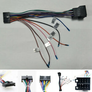 car wiring harness plug car stereo radio dvd player iso wiring harness plug cable adapter  iso wiring harness plug cable adapter