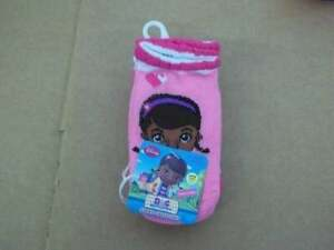 Girls Character Slipper Socks with Grippers DOC McStuffins