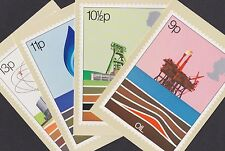 Great Britain GB 1978 Unused Full Set PHQ Stamp Cards No 27 Energy Oil Coal Gas