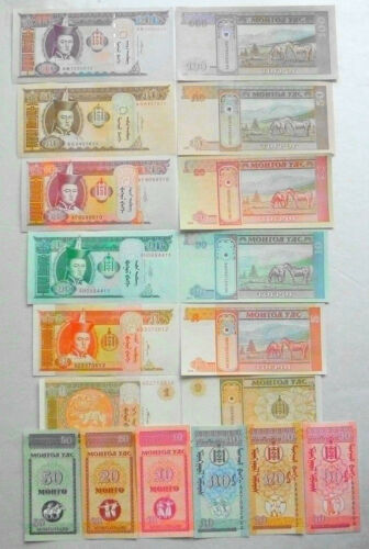 NEW Paper Money 100 Different Banknotes from 30 Countries,All Genuine