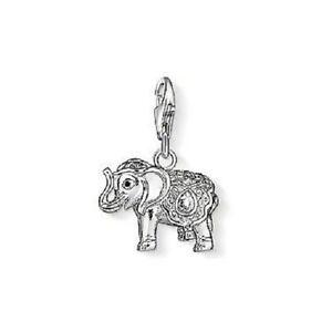 Genuine-NEW-THOMAS-SABO-Charm-Club-Elephant-Cubic-Zirconia-1050-041-14-1050