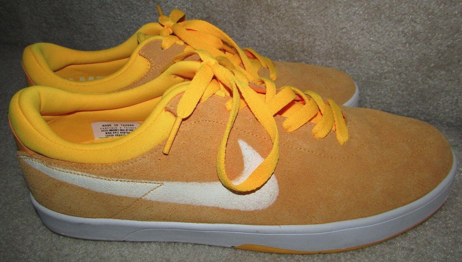 Nike Shoes Eric Koston SE Sample Shoes Nike Size 9 Laser Orange EUC b3039d