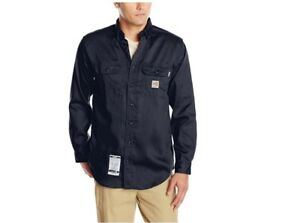 450772ba87b4 Image is loading Carhartt-Men-039-s-Flame-Resistant-Lightweight-Twill-