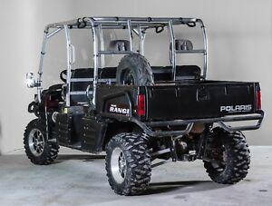 Polaris Ranger Back Utv Windshield 3 16 Models 2003 2009 Ebay