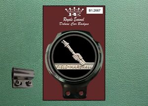 Royale Classic Car Badge & Bar Clip FIELD MARSHALL TRACTOR EMBLEM B1.2667