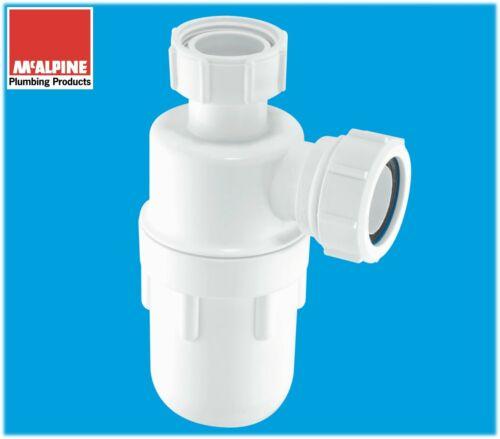 """C10 Genuine McALPINE 40mm Kitchen Sink Urinal Bottle Waste Trap Multifit 1 1//2/"""""""