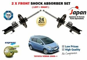 FOR-TOYOTA-VERSO-2-0-2-2-D4D-MPV-2009-gt-2X-FRONT-LEFT-RIGHT-SHOCK-ABSORBER-SET