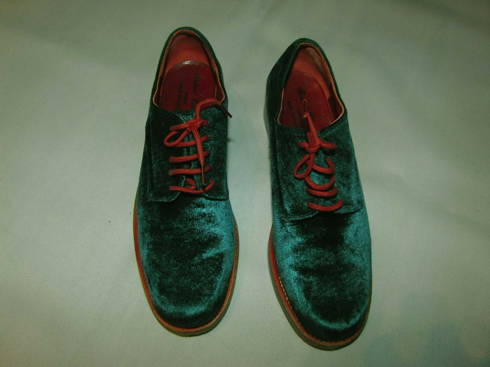 ROBERT CLERGERIE chaussures US taille 5,5 taille 37 vert-turquoise TOP