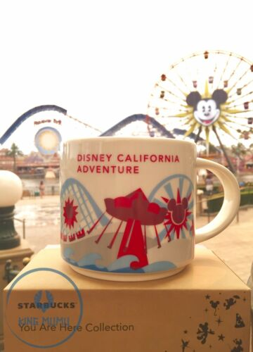 Disney California Adventure Starbucks Paradise Pier You Are Here 14 oz Mug