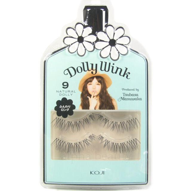 a1a6b50e202 Koji Dolly Wink False Eyelashes #9 Natural Doll Tsubasa Masuwaka ...