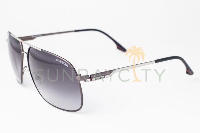 80db459926 Carrera Ca 59 S Rectangular Sunglasses Semi Matte Dark Ruthenium 62 ...
