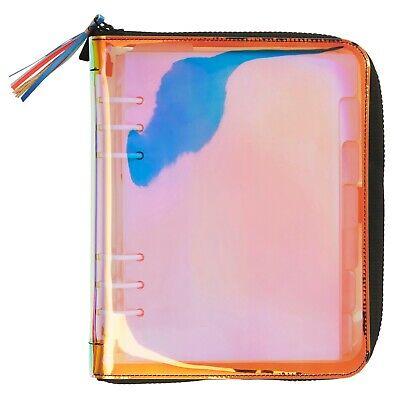 Iridescent 2020 Calendar NEW Kikki.K Holographic Planner Large A5 Zipper PVC