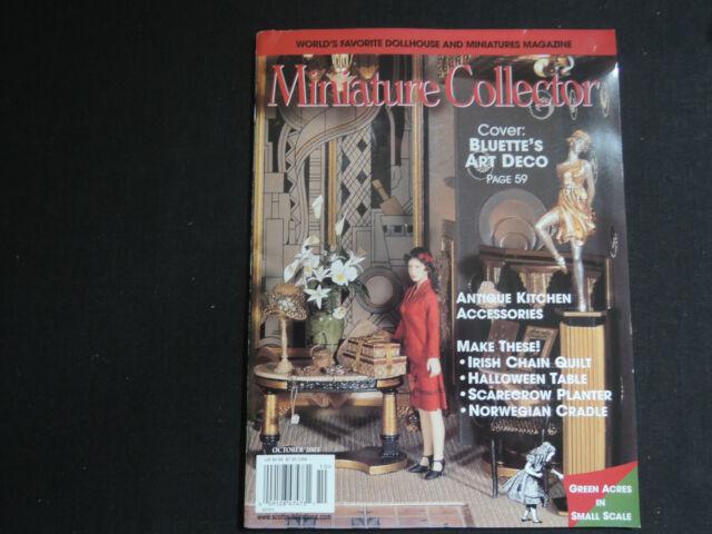 MINIATURE COLLECTOR MAGAZINE October 2003